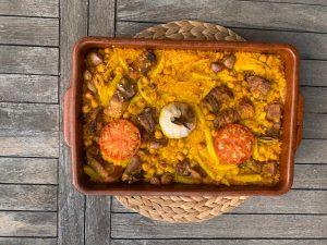 Spécialité culinaire Valence Espagne : Arroz al Horno