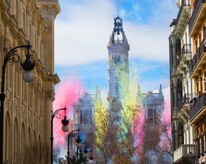 Les Fallas à Valence (Espagne)