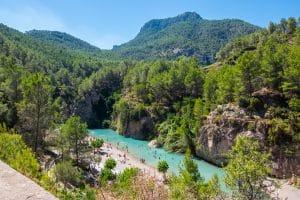 Excursion à Montanejos depuis Valence